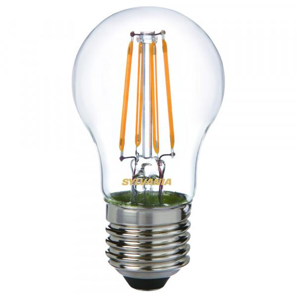 Sylvania LED-Lampe ToLEDo Retro, Tropfen, 4W, E27