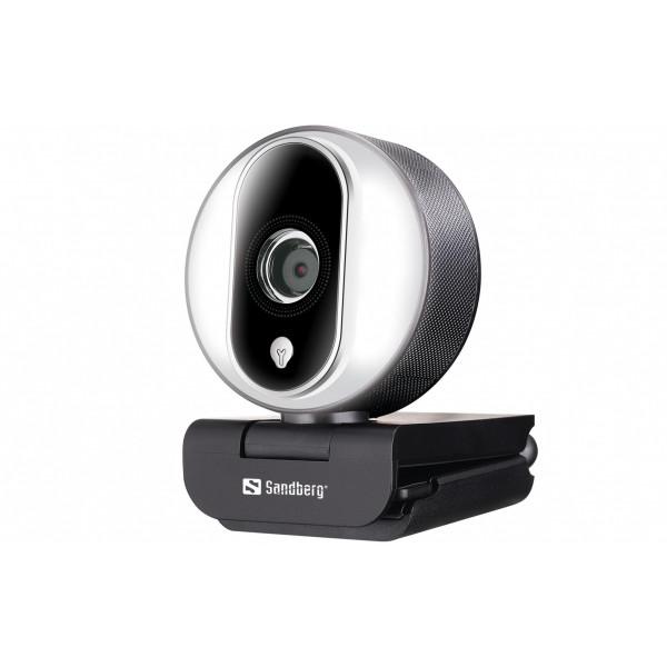 Sandberg Streamer Pro USB Webcam 1080P 30 fps