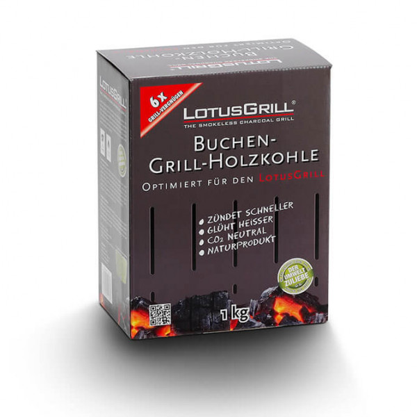 LotusGrill Buchenholzkohle 1kg