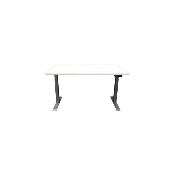 Contini Tisch RAL 7045 1.6 x 0.8 m mit Tischplatte Weiss