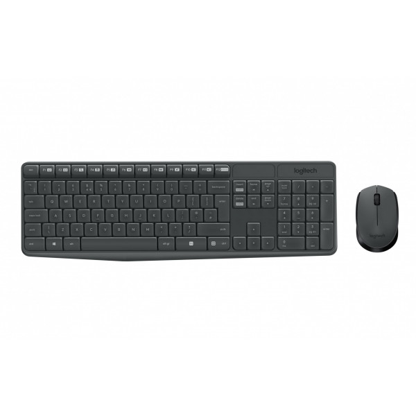 Logitech Wireless Desktop Tastatur-Maus-Set MK235