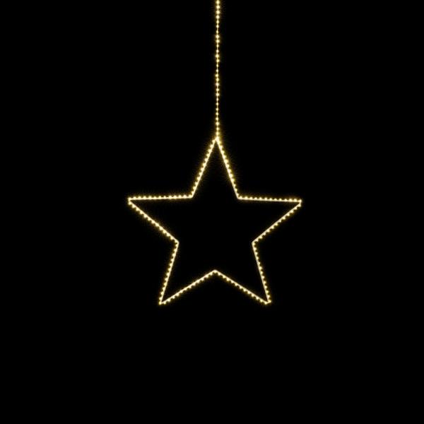 Filigran leuchtender Stern Angel L D58cm
