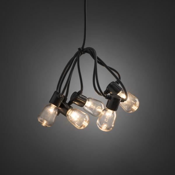 Konstsmide LED-Lichterkette 1475 cm lang 40 LEDs schwarz