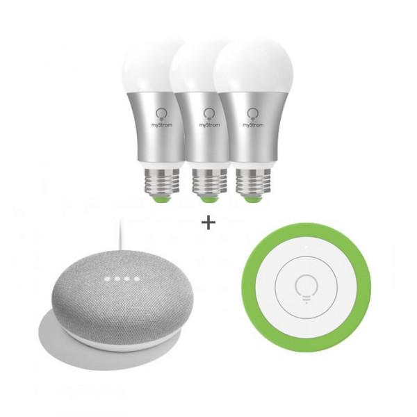 Set myStrom Beleuchtung & Google Mini